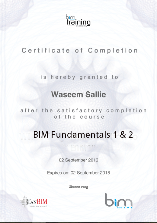 Bim Fundamentals Course Bim Institute